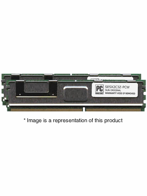 SESX2C3Z - 8gb (2x4gb) PC2-5300 DDR2-667Mhz 2Rx4 1.5v ECC Fully Buffered Memory Kit
