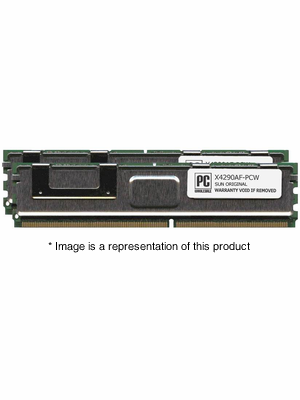 X4290AF - 16gb (2x8gb) PC2-5300 DDR2-667Mhz 2Rx4 ECC Fully Buffered Memory Kit
