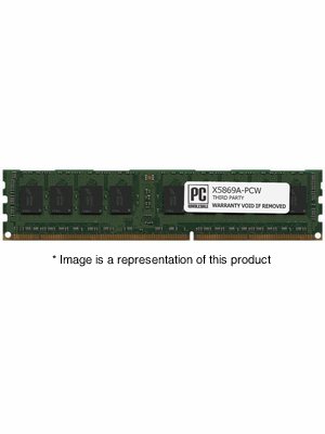 X5869A - 2gb PC3-10600 DDR3-1333Mhz 1Rx4 ECC Registered RDIMM