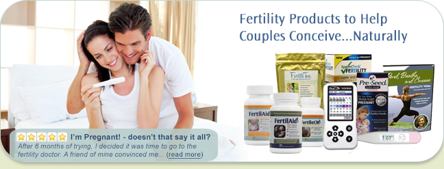 how to increase male and female fertility naturally