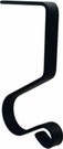 Stocking Hanger / Mantel Hook, Wrought Iron, 5 inch