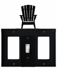 GFI, Switch and GFI Cover, Adirondack Chair, Wrought Iron