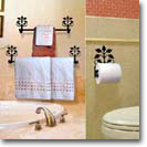 BATHROOM DECOR - Towel Bars & Rings, Toilet Paper Holders, Hair Dryer Holders