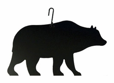 Bear Silhouette, Hanging Art, Wrought Iron
