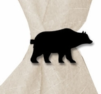 Napkin Ring, Wrought Iron, Bear, Set of 4