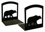 Bookends, Wrought Iron, Bear
