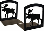 Bookends, Wrought Iron, Moose