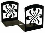 Bookends, Wrought Iron, Ribbon / Bow