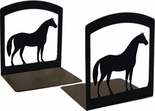 Bookends, Wrought Iron, Horse
