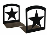 Bookends, Wrought Iron, Star