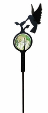 3D Lawn / Garden Stake, Hummingbird with Marble Ball