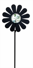 Lawn / Garden Stake, Daisy, Flower with Marble Ball