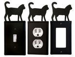 OUTLET, GFI, SWITCH COVERS, CAT, WROUGHT IRON