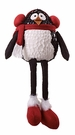 Christmas, Plush Penguin Shelf-Sitter with Earmuffs