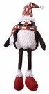 Christmas, Plush Penguin Shelf-Sitter with Stocking Hat