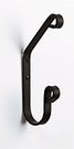 Coat Hook, Wrought Iron, Wall Mounted