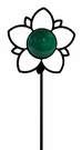 Lawn / Garden Stake, Daffodil, Flower, Wrought Iron, Color Lens