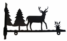 Sign Bracket, Deer, Wrought Iron, 36 Inch
