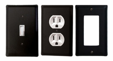 OUTLET, GFI, SWITCH COVERS, WROUGHT IRON