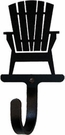 Wall Hook, Adirondack Chair, Wrought Iron, Extra Small, Decorative