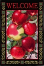 Garden Flag, Autumn, Fall, Dappled Apples, Welcome