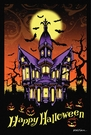 Garden Flag, Halloween, Haunted House, Mansion, Bats