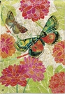 Garden Flag, Boutique Butterflies, Flowers, Spring / Summer