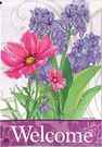Garden Flag, Spring / Summer Bouquet, Floral, Welcome
