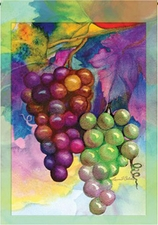 Garden Flag, Wine Grapes, Colors of Autumn, Fall