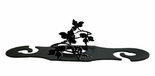 Wine for Two, Wine Glass Holder, Grapevine, Wrought Iron