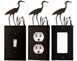 OUTLET, GFI, SWITCH COVERS, HERON, WROUGHT IRON
