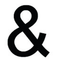 Ampersand, 18 Inch, Wrought Iron, Metal