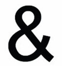 Ampersand, 12 Inch, Wrought Iron, Metal