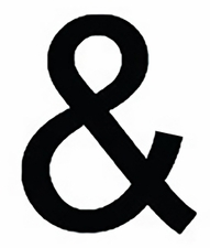 Ampersand, 6 Inch, Wrought Iron, Metal