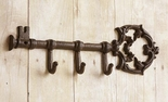 Key Holder, Hanger, Skeleton Key, Cast Iron