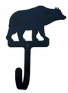 Wall Hook, Bear, Wrought iron, Large
