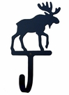 Wall Hook, Moose, Wrought iron, Large