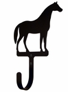 Wall Hook, Horse, Wrought iron, Large