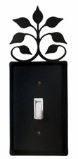 Switch Cover, Leaf Fan, Wrought Iron