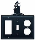 GFI, Switch and Outlet Cover, Lighthouse, Wrought Iron