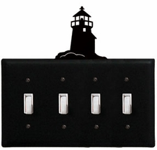 Quad Switch Cover, Lighthouse, Wrought Iron