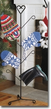 MITTEN / BOOT DRYERS, WROUGHT IRON