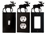 OUTLET, GFI, SWITCH COVERS, MOOSE, WROUGHT IRON