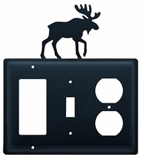GFI, Switch and Outlet Cover, Moose, Wrought Iron