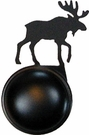 Cabinet Door / Drawer Knob, Moose, Wrought Iron