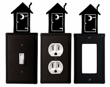 OUTLET, GFI, SWITCH COVERS, OUTHOUSE, WROUGHT IRON