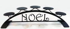 Pillar Candle Holder, NOEL Design, Wrought Iron