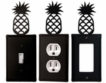 OUTLET, GFI, SWITCH COVERS, PINEAPPLE, WROUGHT IRON