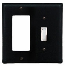 GFI and Switch Cover, Wrought Iron