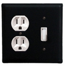 Outlet and Switch Cover, Wrought Iron